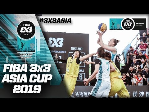 Kazakhstan v Thailand | Women's Full Quarter-Final | FIBA 3x3 Asia Cup 2019