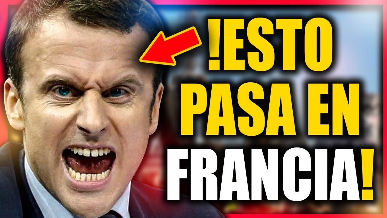Francia Se Levanta contra Macrón y sus Nuevas Medidas que Terminan con la Libertad de los franceses
