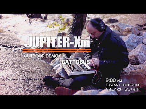"""roland-jupiter-xm---(firmware-ver.1.03)---outdoor-demo-""""warmin'-up"""""""