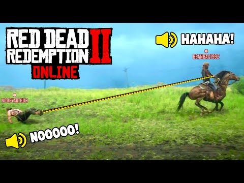 RED DEAD 2 ONLINE IS INSANE! (Fails & Funny Moments #4)