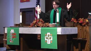 Sunday Morning Worship - October 4, 2020  Pastor Scott Davis, Lector Debbie Johnson