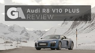 REVIEW - 2017 Audi R8 V10 PLUS - The Ultimate Winter Supercar [4k]