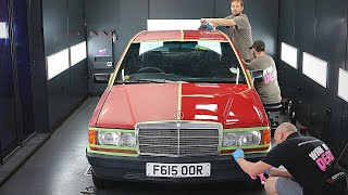Amazing Transformation of a 32 year old Mercedes | Extreme Detailing