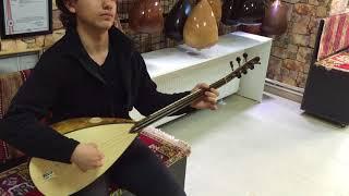 Oyma Dut Klavyeli Kısa Sap Bağlama ile Yusuf Ali Önal - Yılmaz Saz Evi İstanbul Kartal