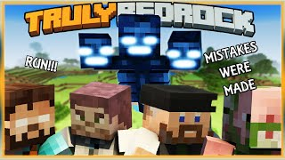 Truly Bedrock S1 EP04 : Withers & Smelters, Mistakes were made [ Minecraft, MCPE, Bedrock Edition ]