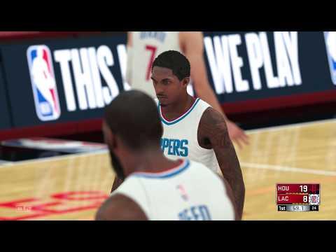 NBA 2K18 - Houston Rockets vs LA Clippers - Full Gameplay - [PS4/XB1]