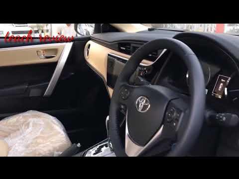 Toyota Corolla Altis Grande 2017 - 2018 Facelift 1.8 A/T