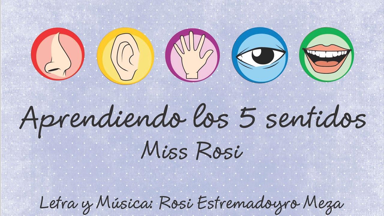 Aprendiendo los 5 sentidos miss rosi youtube for Mural de los 5 sentidos