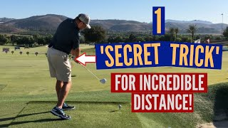 1 'Secret' Trick for Incredible Distance and Accuracy in Your Golf Swing!