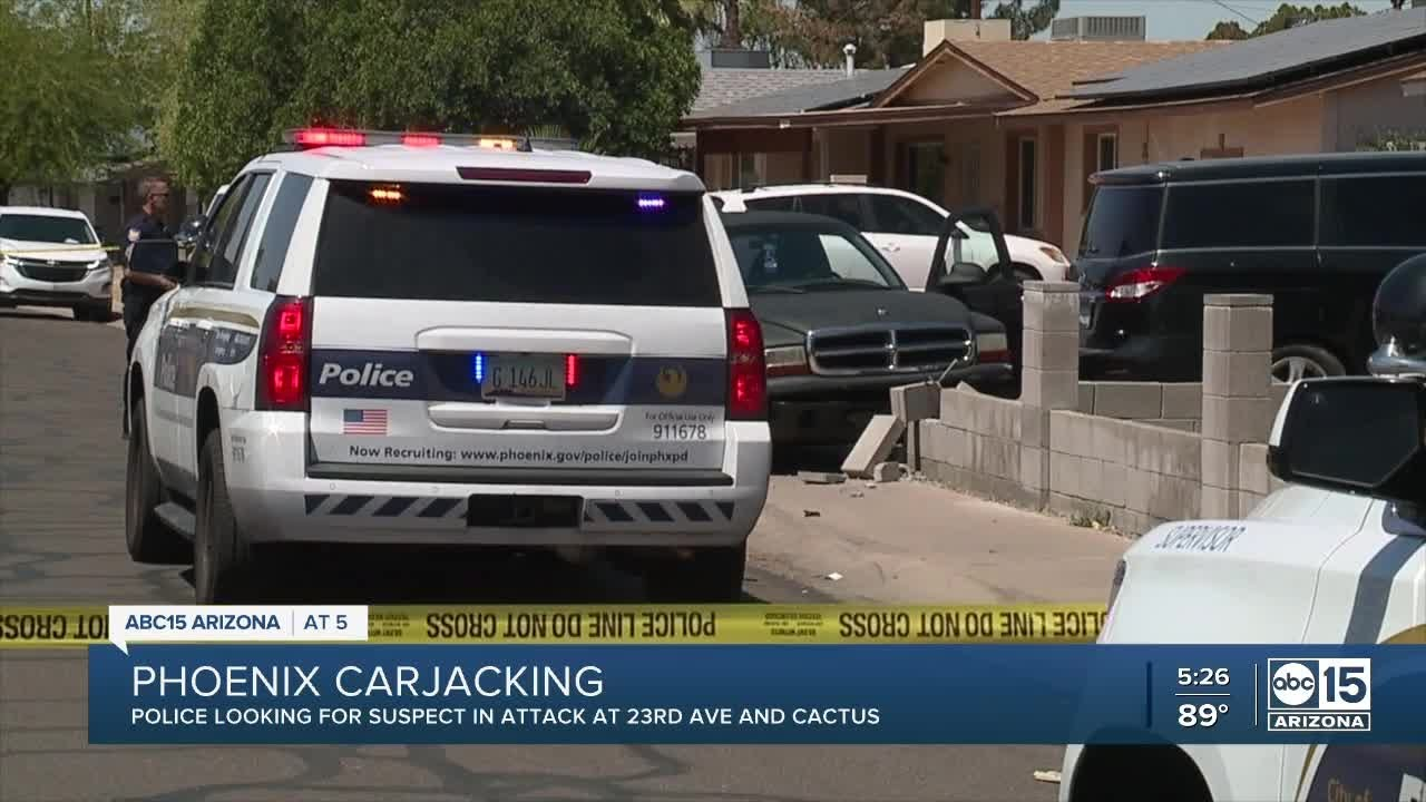 Some where In Arizona A Real Car Jacking