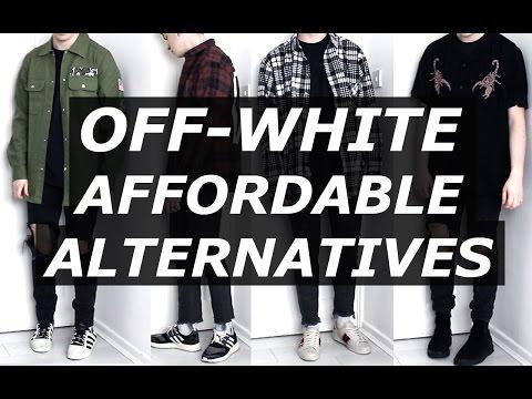 OFF WHITE Affordable Alternatives | Mens Fashion, Streetwear, Luxury, Options | Gallucks