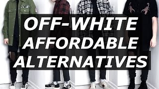 OFF WHITE Affordable Alternatives | Mens Fashion, Streetwear, Luxury, Options | Gallucks