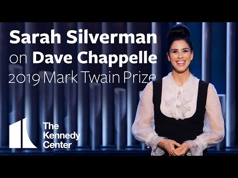Sarah Silverman on Dave Chappelle | 2019 Mark Twain Prize
