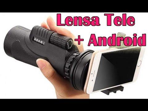 Bagaimana hasil lensa tele dan hp android youtube