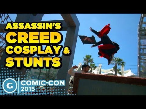 Assassin's Creed Cosplay and Stunts - YouTube