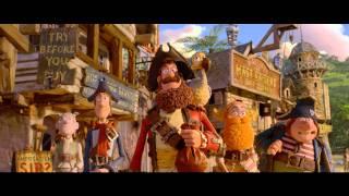 Die Piraten - Ein Haufen merkwürdiger Typen | Trailer #1 D (2012) 3D Aardman