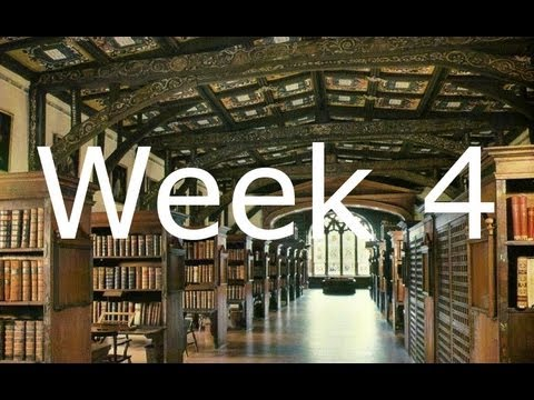 An Oxford glossary, and a collab video! - TT2013 Week 4