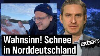 """""""Extra 3""""-Brennpunkt: Schnee in Norddeutschland"""