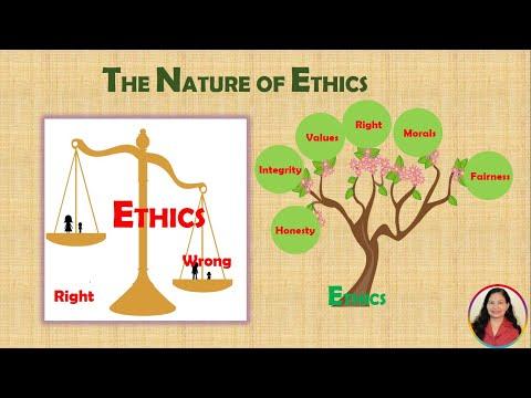 Communication Ethics - The Nature of Ethics