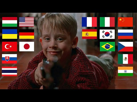 """Home Alone """"HELLO"""" in different languages"""