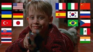 "Home Alone ""HELLO"" in different languages"