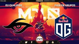 SECRET vs OG - 2 - EU Q - MDL Disneyland MAJOR - Viciuslab