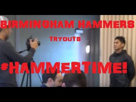 Finding A Team: Birmingham Hammers (Part 1)   B'ham, Alabama