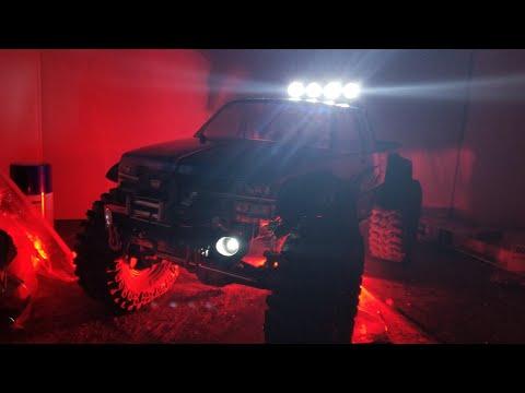 Killer Body Roll Bar install on 88 J Concepts Chevy Silverado Body