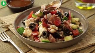 Sałatka speck i gorgonzola
