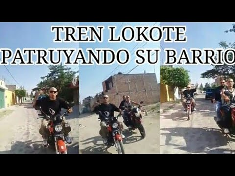 TREN LOKOTE PATRUYANDO SU BARRIO
