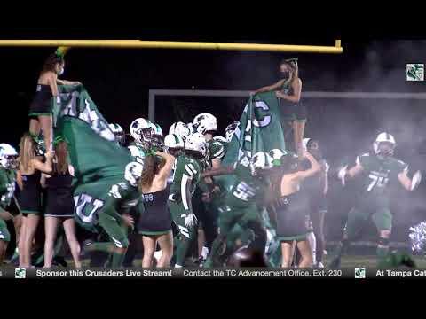 FHSAA Regional Quarterfinals: Tampa Catholic High School Football vs. Cypress Creek