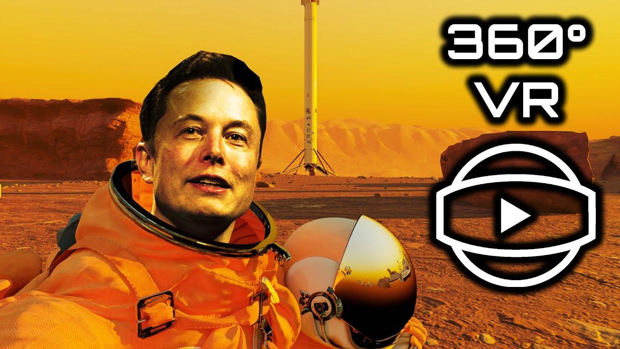 POV(360°): You're Elon Musk on Mars - VR Video