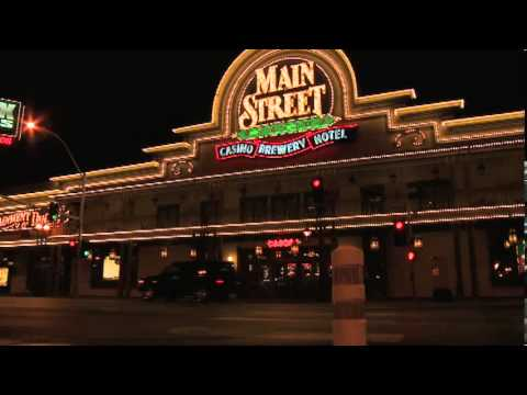 Main Street Station Casino Hotel and Brewery Las Vegas at Night on the Fremont Street Experience FSE
