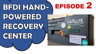 Make BFDI Hand Powered Recovery Center 2/2