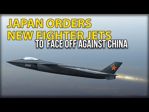 JAPAN ORDERS NEW FIGHTER JETS TO  FACE OFF AGAINST CHINA