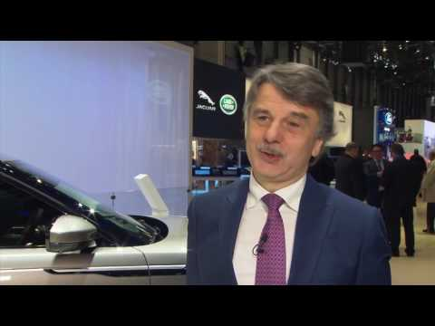 Jaguar Land Rover at Geneva Motor Show 2017 - Interview Dr. Ralf Speth, CEO | AutoMotoTV