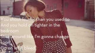 Leona Lewis - Trouble ft. Childish Gambino (Lyrics)