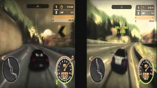 Nfs Most Wanted 2005 - Porsche Carrera Gt Vs. BMW M3 GTR