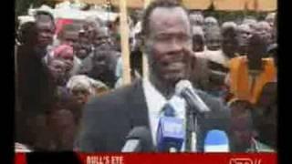 Bulls Eye - Kenya Political Satire KTN 290808