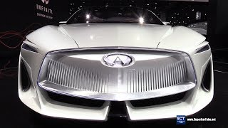 Infiniti Q Inspiration - Exterior and Interior Walkaround - Debut at 2018 Detroit Auto Show