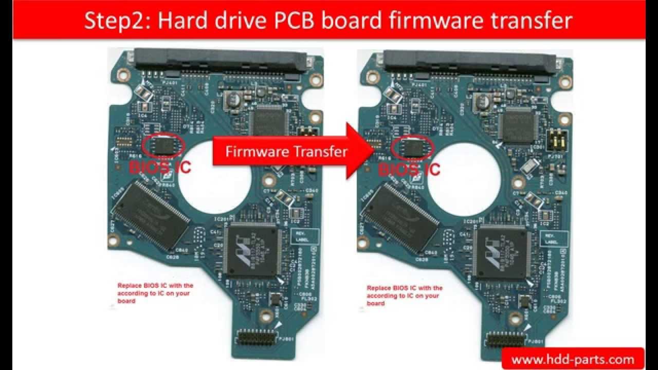 Toshiba repair board swap G002872A MK5061GSY MK5061GSYN MK6461GSYN