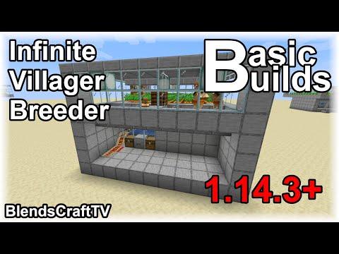 1.14.4 Villager Breeder - Minecraft 1.14.4 Java - Basic Builds