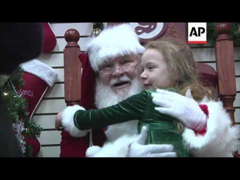 North Pole in Alaska gets ready for Christmas