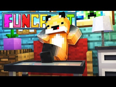 Finally Decorating My House! - Minecraft Funcraft EP 14
