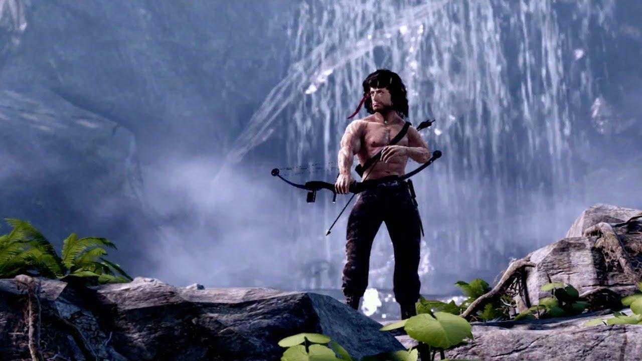 Rambo The Video Game Gameplay - YouTube
