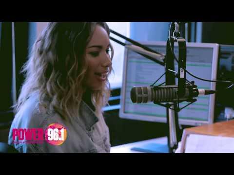 POWER 96.1 INTERVIEW: Leona Lewis w/ Maddox