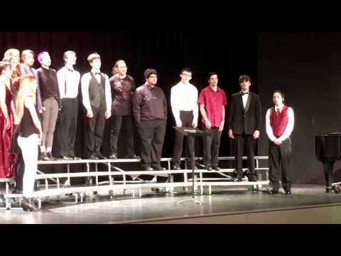 Hellgate high school choir 2017 Honor's ensemble for district