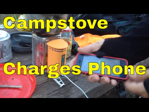 BioLite CampStove with USB Charger  - Review -  4 Day Trial