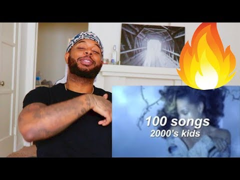 100 Songs That 2000's Kids Grew Up With | Reaction