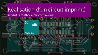 Réalisation d'un circuit imprimé - 02 Révélation - FR